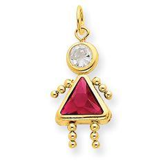 14K Yellow Gold Polished Synthetic CZ July Birthstone Girl Kids Charm Pendant Gemstone Jewelry Collection http://www.amazon.com/dp/B00FX05E76/ref=cm_sw_r_pi_dp_BnDTtb0HPJFZSEBM