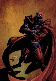 Magneto, por Mike Deofato Jr.  via Adolfo Suarez @Adolfo Suárez