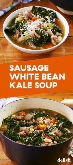 Sausage White Bean & Kale Soup Is Our Newest Healthy ObsessionDelish