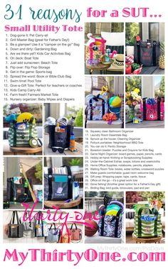 Reasons for a from - Garden Pot Design Tropical Thirty One Party, Thirty One Gifts, Thirty One Facebook, Thirty One Uses, Thirty One Organization, Childcare Activities, Activity Bags, Thirty One Consultant, 31 Gifts