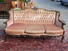 Antique French Louis XVI Living Room Sofa Couch | eBay