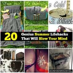 Summer is here and although it's nearly gone, there is still time to learn a few hacks that will make the rest of the hot months more bearable. During this hottest time of the year, it's important to learn ways of keeping cool and making life just a bit easier. Lucky for you, we've found a...