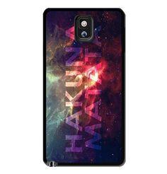 Hakuna Matata Galaxy Nebula Samsung Galaxy S3 S4 S5 Note 3 Case