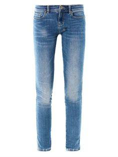 KSUBI  Skinny pins low rise skinny jeans