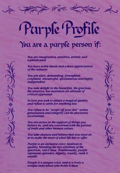 Red Hat Society Queens & Members Message Board - Purple Profile this is so true to all of use...