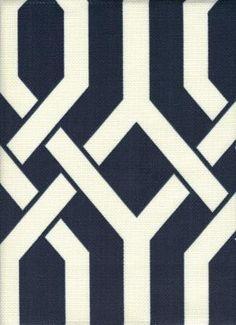 Bleeker Blue - www.BeautifulFabric.com - upholstery/drapery fabric - decorator/designer fabric