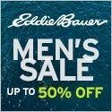 Men's sale.  Up to 50% off