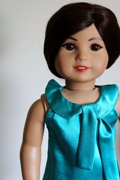 american girl doll dress and overcoat: by sylvieandbruno on Etsy