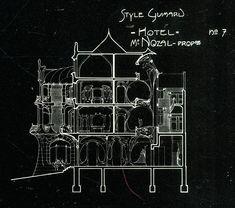 al-inda:  Hector Guimard (1912). Hector Guimard(Monograph Series), Architectural Design, London 1978: 57