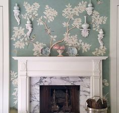 The Chinoiserie Fireplace