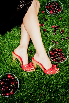 Hello Kitty Red Heels - $78.00