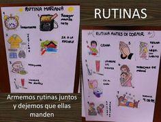 Rutinas para niños al modo de Disciplina Positiva!