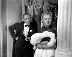 The Barkleys of Broadway - Fred Astaire and Ginger Rogers wearing Joseff Hollywood Jewelry