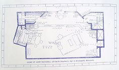 Mary Richards Apartment From TV Show Mary Tyler Moore Blueprint