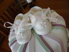 Beautiful Baby Shower Fondant Cake With Cute Pictures and Instructions Cute Baby Shower Ideas, Beautiful Baby Shower, Baby Shower Signs, Shower Baby, Baby Showers, Homemade Fondant, Homemade Baby, Baby Shower Cupcakes, Shower Cakes