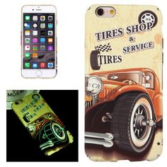 For+iPhone+6/6s+Tires+Shop+Pattern+PC+Protective+Case+with+Noctilucent