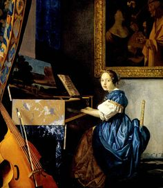 jan+vermeer+phi+stars+painter+baroque+a+lady+seated+at+a+virginal.bmp (348×400)