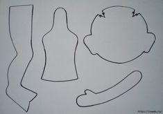 Patterns of textile dolls from Irina Khochin