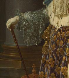 Louis XVI par Callet (détail)