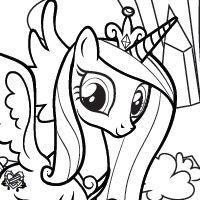 my little pony ausmalbild 08