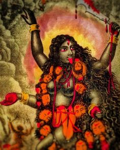 """🌺 """"All forms of knowledge are Your manifestations, O Goddess, and all women are Your forms. By You alone is this world filled. How can we praise You, who are beyond description?"""" - verse 4 of the Sri Narāyanī Stuti, from the Śri Caṇḍī Mother Kali, Divine Mother, Kali Goddess, Goddess Art, Sacred Feminine, Divine Feminine, Durga Kali, Kali Ma, Mata Rani"""