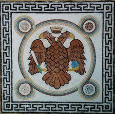 The eagle by kukuzelismosaic on Etsy
