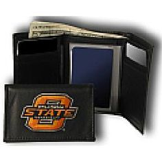 Oklahoma State Cowboys NCAA TriFold Wallet from Rico