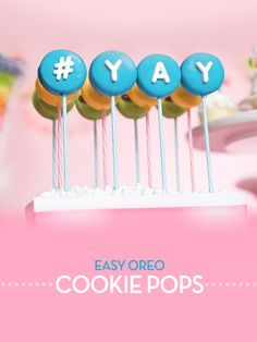 YAY Cookie Pops