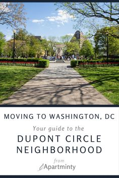 Interested in learning more about the DC Neighborhood Dupont Circle? Here's what you need to know when moving to the Dupont Circle, Washington, DC. Dupont Circle, Apartment Hunting, Small Town Girl, Washington Dc, The Neighbourhood, Places To Go, Apartments, Packing Tips, Travel