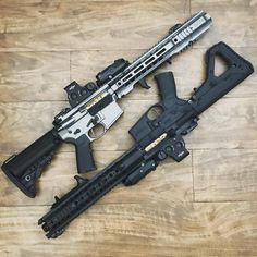 My Twisted Toybox : Photo Military Weapons, Weapons Guns, Airsoft Guns, Guns And Ammo, Molon Labe, Rifles, Ar Rifle, Ar 15 Builds, Custom Guns
