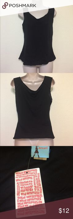 Urban Outfitters Damsel Black Tank Top Black tank from UO's Damsel. 100% Cotton. Brand New! Urban Outfitters Tops Tank Tops