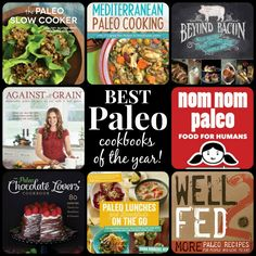 Best Paleo Cookbooks of the Year!