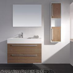 Bathroom Vanities Product   900 CUBE BATHROOM VANITY   Bathroom Vanity   Stone Basin   Stone Bath ...