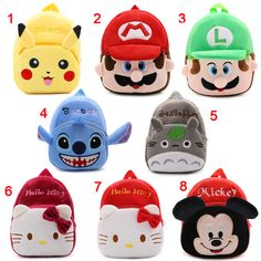 5d48335305ad Cute cartoon baby kids plush backpack toys mini school bag Children s gift  kindergarten boy girl student bags lovely Mochila - Kid Shop Global - Kids    Baby ...