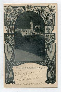 Genova - Chiesa di San Colombano di Vignale + CORNICE LIBERTY | eBay