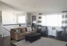 living room design split level  Keep Home Simple: Our Split Level Fixer Upper | decorating ideas ...