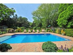 Pool and Privacy.  Can you think of a better spot to be during a hot summer day?