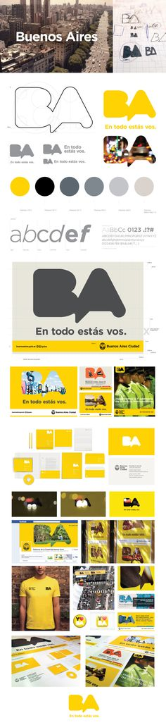 Gobierno de la Ciudad de Buenos Aires - Rebranding on Behance