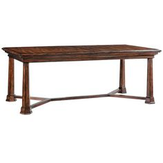 I pinned this Barclay Butera Gibson Dining Table from the Mally Skok Design event at Joss and Main!$1814.40