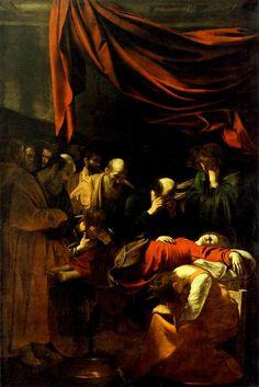 La mort de la Vierge, Le Caravage, 1601-1605/1606
