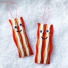 Bacon DIY Ornament Clinton Kelly