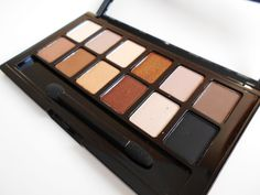 Maybelline Nudes eye shadow palette review