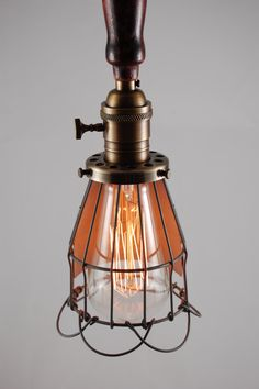 awesome vintage lighting. @Trent L Huffines