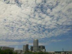 동대문에서 바라본 하늘