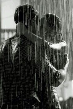 Kiss me in the rain. Kiss me long. Kiss me hard. Kiss me so passionately that it stays burned in my memory. Kissing In The Rain, Dancing In The Rain, Couple Kissing, Couple In Rain, Couple Pics, Couple Goals, I Love Rain, Rain Dance, Kiss Rain