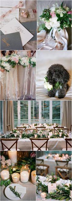 Rustically Elegant Winter Colorado Wedding - MODwedding