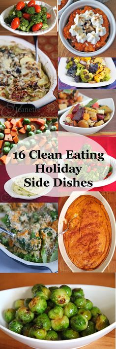 Clean Eating Holiday Side Dishes © Jeanette's Healthy Living