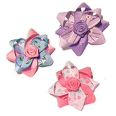 High quality, hand made designer Satin Hair Bows are the perfect accessory!
