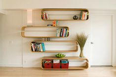 Sliding Book Shelves - Home Decorating IdeasGeek Living's Blog | Geek Living's Blog