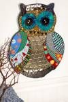 Earthbound Trading Company..this owl mosaic is pretty!